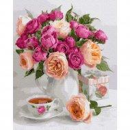 Картина по номерам «Picasso» Букет из роз, PC4050555