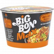 Лапша «Big Bon» MAX соус с говядиной гриль 95 г.