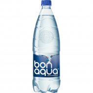 Вода питьевая «Bon-aqua» сильногазированная 1 л.
