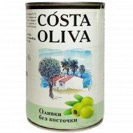 Оливки «Costa oliva» консервированные, без косточки, 314 мл.