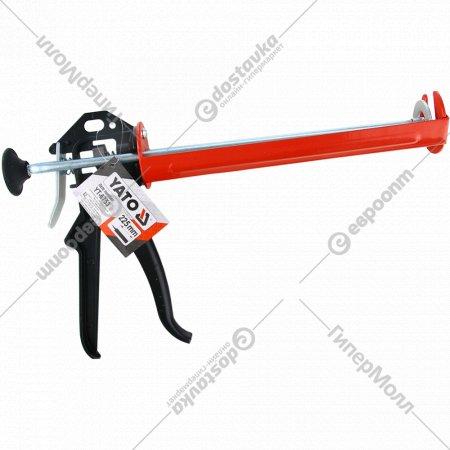 Пистолет для герметика «Yato» полукорпусной.