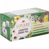 Чай зеленый «Lovare» ассорти, 42 г
