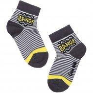 Носки детские «Tip-Tot» темно-серые, размер 14.