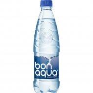 Вода питьевая «Bon-aqua» сильногазированная 0.5 л.