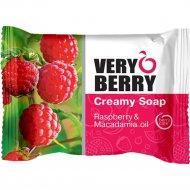 Крем-мыло «Very Berry» малина и масло макадамии, 100 г.