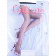 Колготы женские «Giulietta» (solo, 40 den, nero) 4-L.