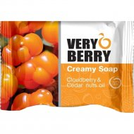 Крем-мыло «Very Berry» масло клубники и кедровых орехов, 100 г.