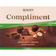 Конфеты шоколадные «Roshen» Compliment с ореховой начинкой, 122 г.