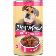 Корм для собак «Dog Menu» с курицей, 1240 г.