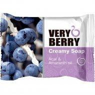 Крем-мыло «Very Berry» ягоды асаи и масло амаранта 100 г.