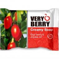 Крем-мыло «Very Berry» ягоды годжи и масло жожоба, 100 г.