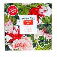 Набор косметики «Nature Box» Beauty Gift, 30г+75г+100г.