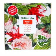 Набор косметики «Nature Box» Beauty Gift, 30г+75г+100г.