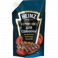 Кетчуп BBQ «Heinz» для свинины, со вкусом вяленых томатов, 350 г.