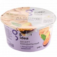 Десерт миндальный «Green Idea» персик и маракуйя, 140 г.