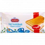 Мороженое «Юкки» сметанковый пломбир в печенье, 12%, 80 г.