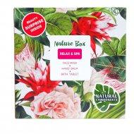 Набор косметики «Nature Box» relax&SPA ,30г+ 100г.