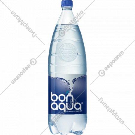 Вода питьевая «Bonaqua» сильногазированная, 2 л.