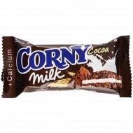 Батончик злаковый «Corny» с молоком и какао, 30 г.