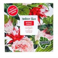 Набор косметики «Nature Box» botanic Therapy, 285г +285г.