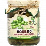 Лоббио «EcoFood Armenia» фасоль стручковая, маринованная, 500 г.