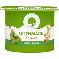 Йогурт «Оптималь» киви-злаки, 2%, 120 г.
