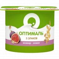 Йогурт «Оптималь» инжир-злаки, 2%, 120 г.