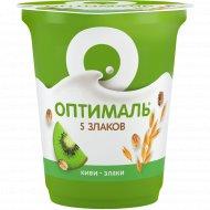 Йогурт «Оптималь» киви-злаки, 2%, 350 г.