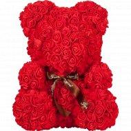 Сувенир «Teddy Rose Bear» красный, 40 см.