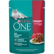 Корм для кошек «Purina One» с говядиной, 75 г