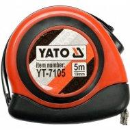 Рулетка «Yato» 19 мм х 5 м, с магнитом.