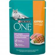 Корм для кошек «Purina One» с курицей, 75 г
