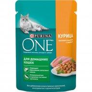 Корм для кошек «Purina Оne» с курицей и морковью, 75 г.