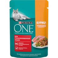 Корм для стерилизованных кошек «Purina One» с курицей, 75 г
