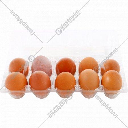 Яйца куриные пищевые столовые, С-2, 10 шт.