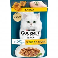 Корм для кошек «Gourmet Perle» с курицей, 75 г