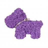 Сувенир «Rose Dog» фиолетовый, 40 см.