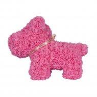 Сувенир «Rose Dog» розовый, 40 см.