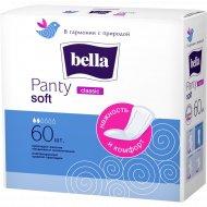 Прокладки ежедневные «Bella» soft classik, 60 шт.