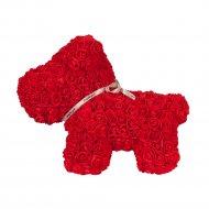 Сувенир «Rose Dog» красный, 40 см.