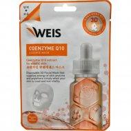 Маска для лица «Weis» с коэнзимом Q10, 23 г.