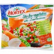 Овощная смесь «Hortex» с рисом и грибами, 400 г.