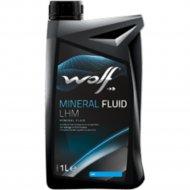 Жидкость гидравлическая «Wolf» Mineral Fluid LHM, 1 л