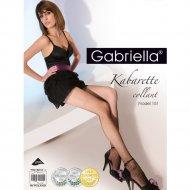 Колготки женские «Gabriella» Kabarette Exclusive 151, размер 3/4, черный