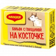 Бульон «Maggi» с говядиной на косточке, 9 г.