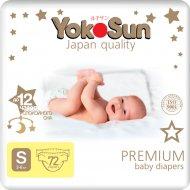Подгузники «YokoSun» Premium, размер S, 3-6 кг, 72 шт