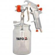Краскопульт с нижним бачком «Yato» HVLP, 1.8 мм.