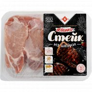 Стейк из свиной шейки, охлажденный, 500 г.