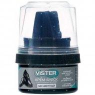 Крем для обуви «Vister» для гладкой кожи, бесцветный, 50 мл.