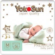 Трусики «YokoSun Premium» размер М, 6-10 кг, 56 шт